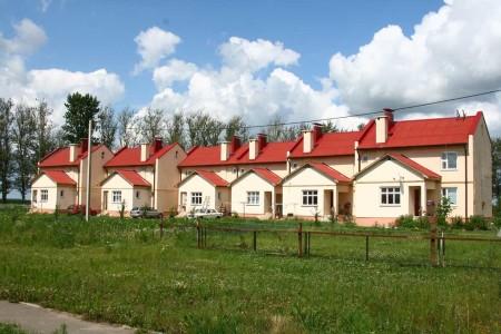 Агрогородок в Беларуси