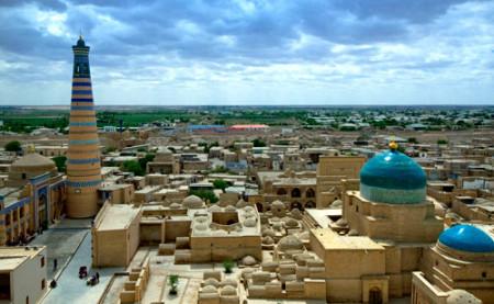 Работа в Узбекистане