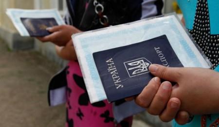 Пребывание украинцев в России