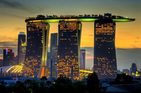 Богатый город - Сингапур