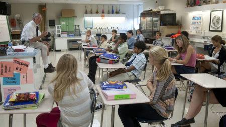 Средняя школа в сша