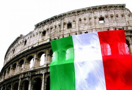 Едим в Италию