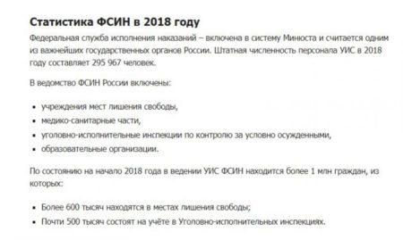 Зарплата сотрудников и инспекторов ФСИН в разных городах России: последние новости 2019 года