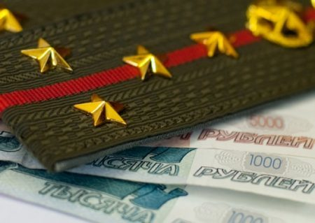 Зарплата военнослужащих в России: сколько получает контрактник в 2019 году