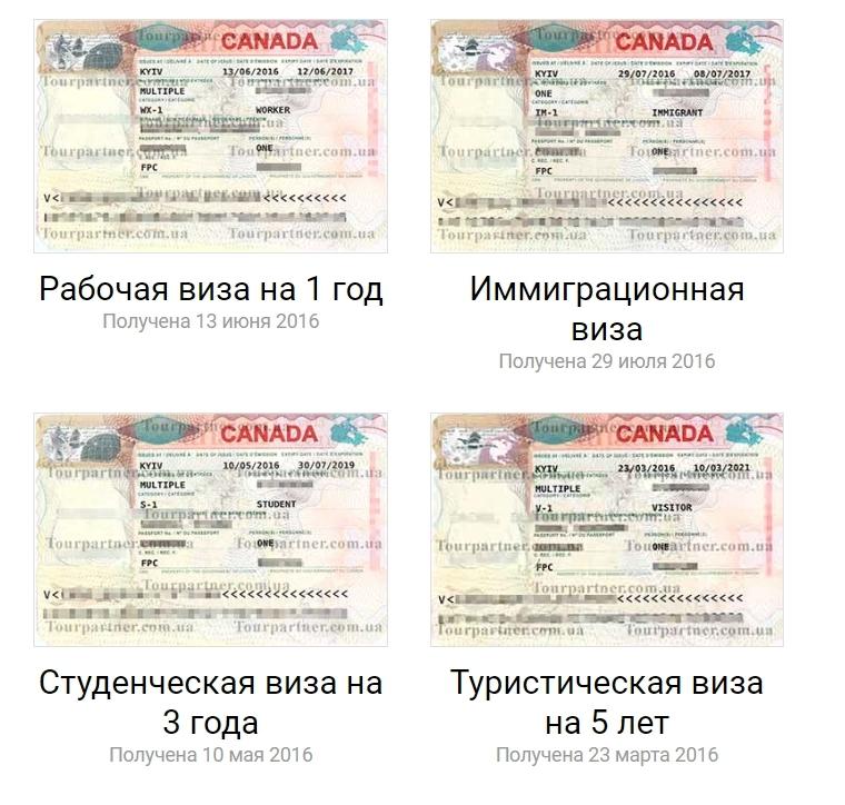 Гостевая виза в Канаду для украинцев и россиян