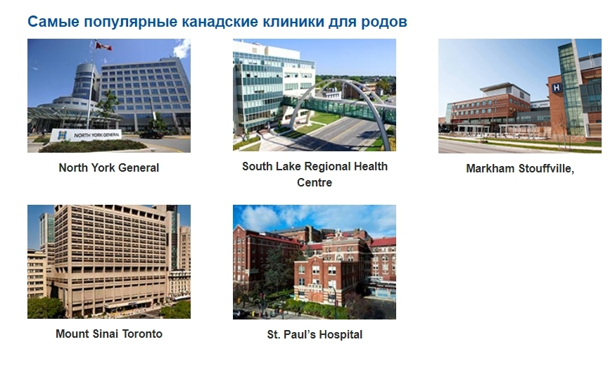 Самые популярные клиники в Канаде - Google Chrome