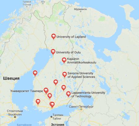 Университеты Финляндии
