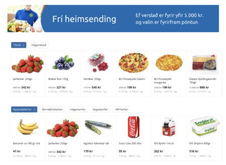 Цены на еду