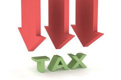уменьшение налогов