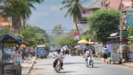 Дорога в Камбодже