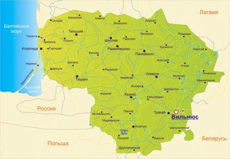 Пересечение границы Литвы