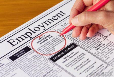 Поиск работы в США