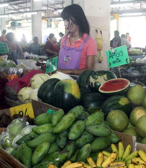 Jomtien-Fruit-Market